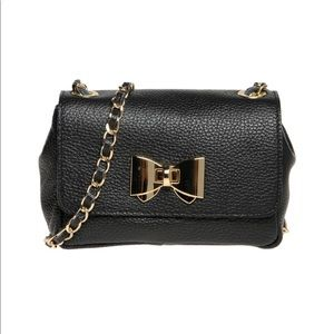 Handbags - Pierre Darre Black Leather Crossbody bag